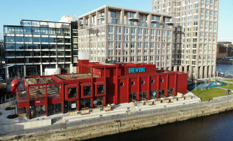 BrewDog Outpost Dublin in Capitol Docks